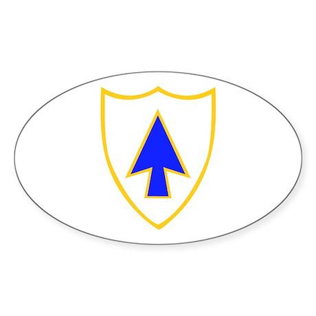 DUI - 1st Bn - 26th Infantry Regt Sticker (Oval 50