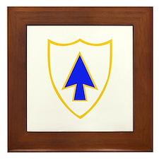 DUI - 1st Bn - 26th Infantry Regt Framed Tile