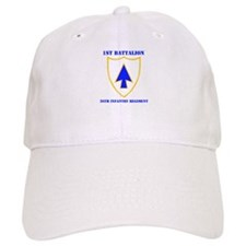 DUI - 1st Bn - 26th Infantry Regt with Text Baseball Cap
