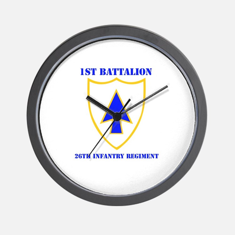 DUI - 1st Bn - 26th Infantry Regt with Text Wall C