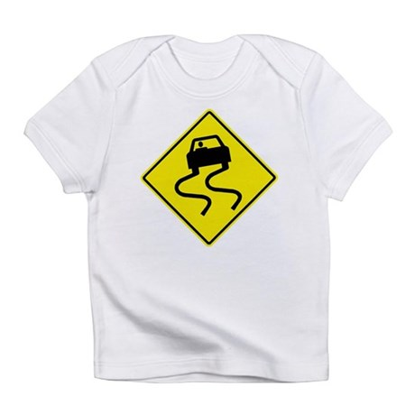 Slippery When Wet Infant T-Shirt