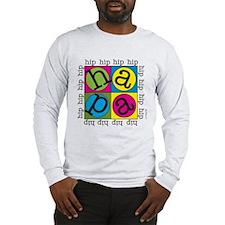 A Hip Hip Hapa In A Long Sleeve T-Shirt