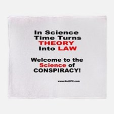 conspiracylaw Throw Blanket