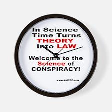 conspiracylaw Wall Clock