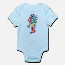 Angry Robot Infant Bodysuit