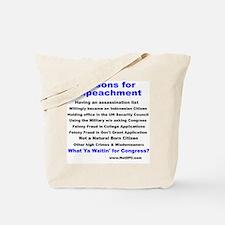 impeachment Tote Bag