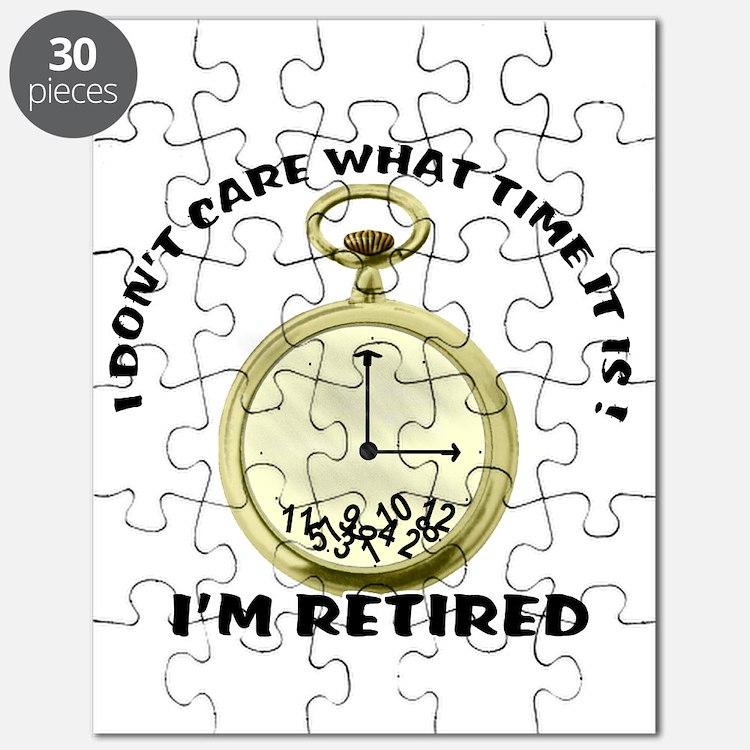 I'm Retired Puzzle