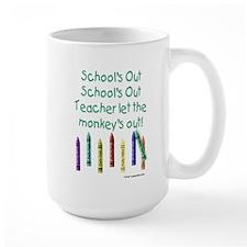 School's Out! Mug