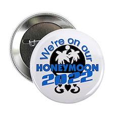 "Tropical Honeymoon 2014 2.25"" Button"