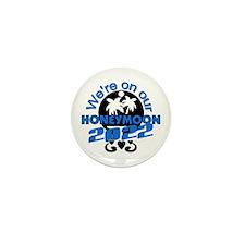 Tropical Honeymoon 2014 Mini Button (10 pack)