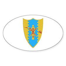 DUI - 1st Sqdrn - 4th Cavalry Regt Decal