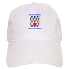 DUI - 2nd Bn - 16th Infantry Regt with Text Baseball Cap