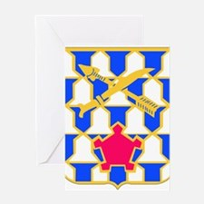 DUI - 2nd Bn - 16th Infantry Regt Greeting Card