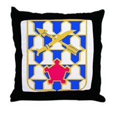 DUI - 2nd Bn - 16th Infantry Regt Throw Pillow