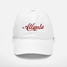 ATLANTA SCRIPT Baseball Baseball Cap