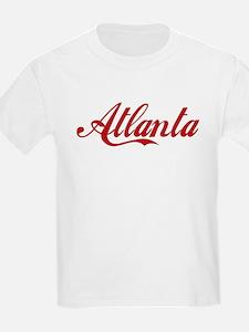ATLANTA SCRIPT Kids T-Shirt
