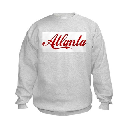 ATLANTA SCRIPT Kids Sweatshirt