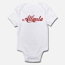 ATLANTA SCRIPT Infant Creeper