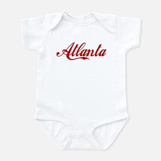 ATLANTA SCRIPT Infant Creeper
