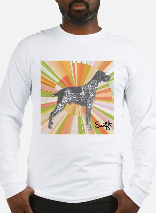 German Shorthaired Pointer Long Sleeve T-Shirt