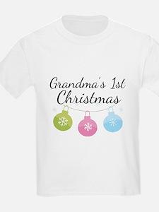 Grandma's 1st Christmas T-Shirt
