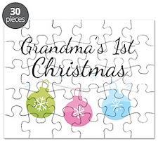 Grandma's 1st Christmas Puzzle