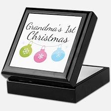 Grandma's 1st Christmas Keepsake Box