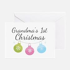 Grandma's 1st Christmas Greeting Cards (Pk of 10)