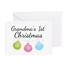 Grandma's 1st Christmas Greeting Card