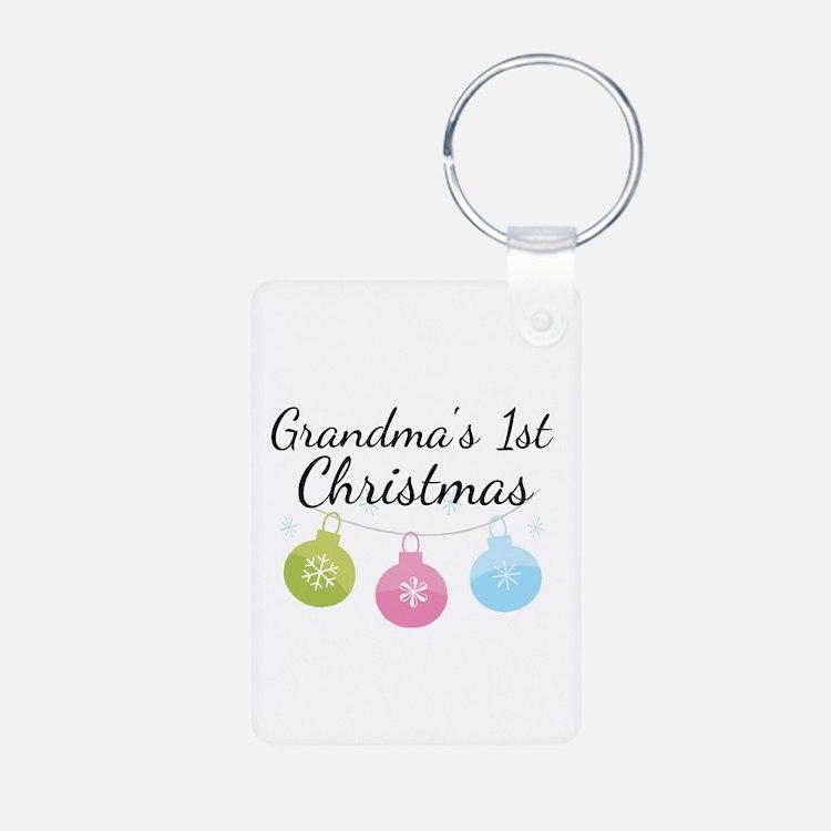 Grandma's 1st Christmas Keychains