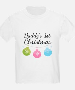 Daddy's 1st Christmas T-Shirt