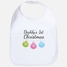 Daddy's 1st Christmas Bib