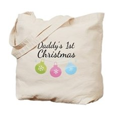 Daddy's 1st Christmas Tote Bag
