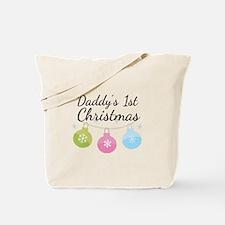 Daddy's 1st Christmas Tote Bag