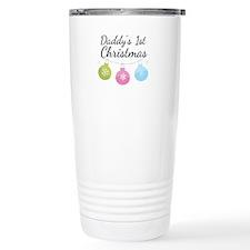 Daddy's 1st Christmas Travel Mug