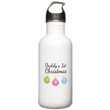 Daddy's 1st Christmas Water Bottle