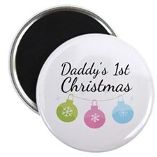 Daddy's 1st Christmas Magnet