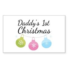 Daddy's 1st Christmas Decal