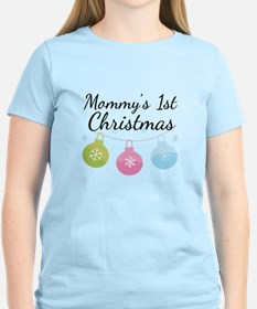 Mommy's 1st Christmas T-Shirt
