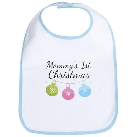 Mommy's 1st Christmas Bib