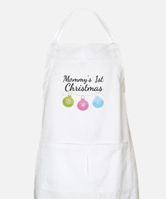 Mommy's 1st Christmas Apron