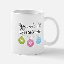 Mommy's 1st Christmas Small Small Mug