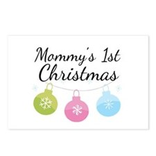 Mommy's 1st Christmas Postcards (Package of 8)