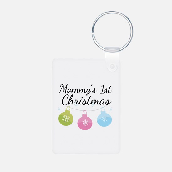 Mommy's 1st Christmas Keychains