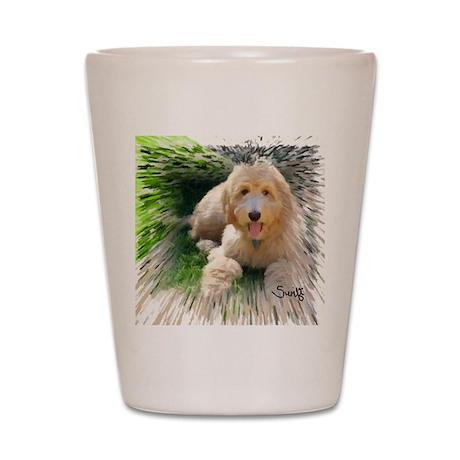 Goldendoodle Shot Glass