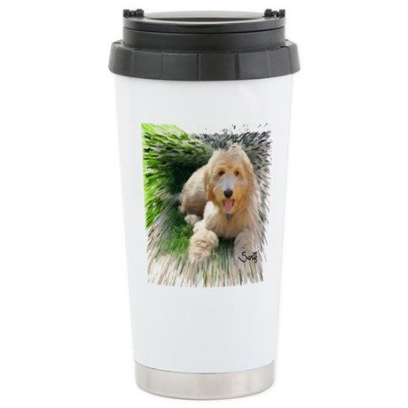 Goldendoodle Stainless Steel Travel Mug
