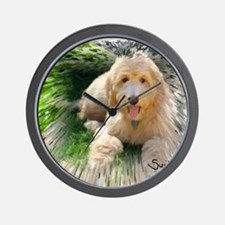 Goldendoodle Wall Clock