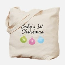 Baby's 1st Christmas Tote Bag