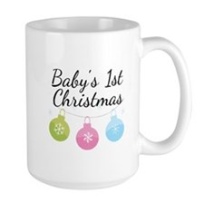 Baby's 1st Christmas Mug