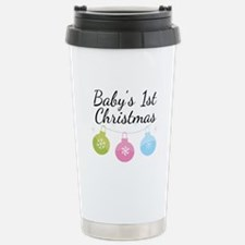 Baby's 1st Christmas Travel Mug